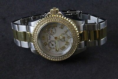 Invicta Angel Jeweled Bezel Chronograph Ladies Watch 17437