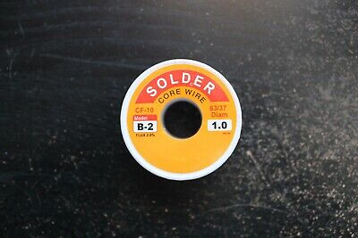 63-37 1mm 100g Silver Tin Lead Solder 2 Flux.................. Ships From Usa