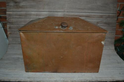 Antique Copper Sterilizer Box Steamer Medical Sterilizer