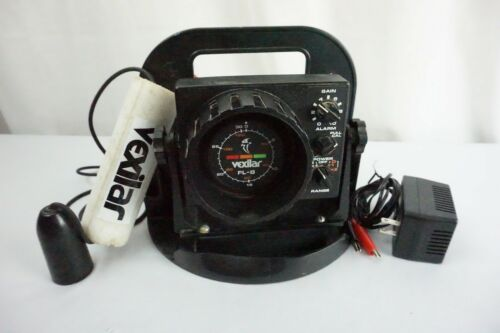 Vexilar FL-8 Flasher Fish Finder W/ Shuttle and Transducer