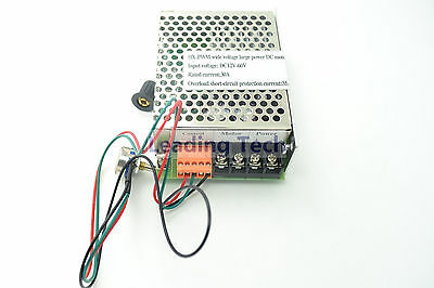 Dc Motor Speed Controls Driver Hx-pwm Input Dc12v-60v Output 30a For Brush Motor