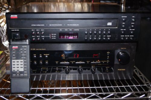 ADCOM GCD-600 5 Disc CD Player, Audiophile w remote - Free Shipping