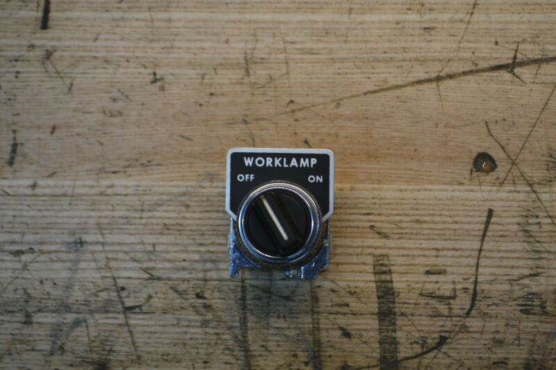 Do All bandsaw Worklight switch/ Do All 2614-1