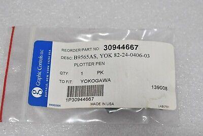 Yokogawa Graphic Controls 30944667 B9565as Plotter Pen 82-24-0406-03 3 Pack