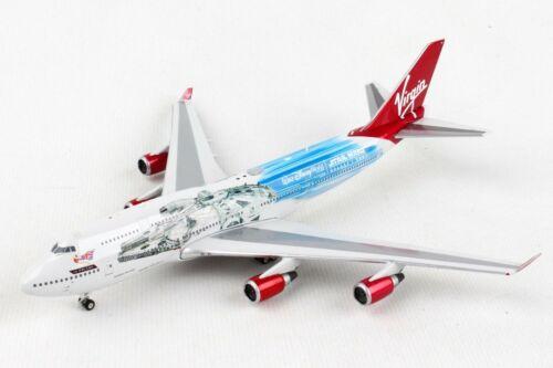Phoenix 04322 Virgin Atlantic B747-400 Star Wars G-VLIP Diecast 1/400 Jet Model