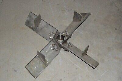 New 4 Blade 316 Stainless Steel 219604 Mixer Agitator Impeller Blade 28 12 Ss
