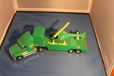 1998 Bp Gold Oil Chopper Tractor Trailer Truck   Helicopter