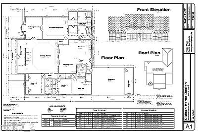 CAD DWG, and PDF files for Tax Home House Plan 3,090 SF Blueprint Plans