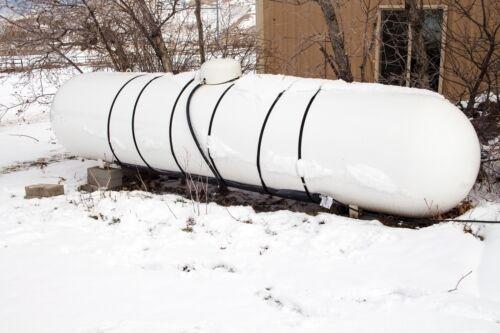 Propane Heater - Powerblanket Lite PBL1K 1000-Gallon Gas Cylinder Heater, 100 F