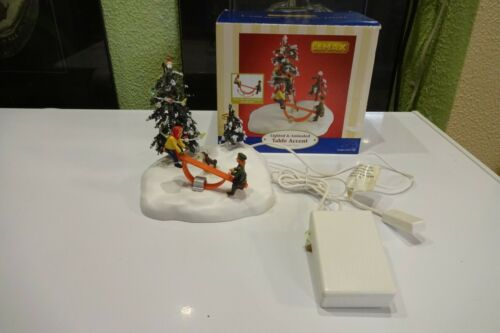 Lemax Table Accent Christmas Village SEE-SAW FUN