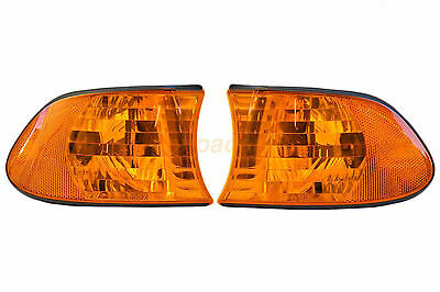 BMW E38 7 Series Corner Light Flasher Turn Signal Indicator Oranage Lens 98-01 c