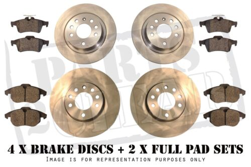 Lexus Is 220 D 250 Front Rear Brake Discs Pads Full Vented Set 2.2D 2.5 2005 -