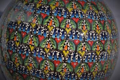 Türkische handbemalte Keramikkugel - Türkische Keramik