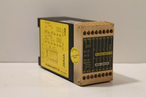Jokab Safety Jsr2a 24vac/dc Relay Security Module