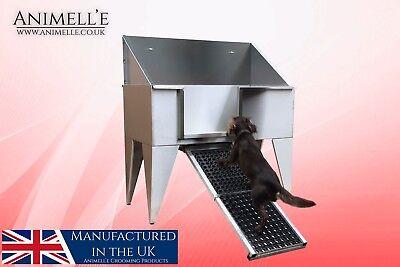 Animelle NEW DESIGN Stainless Steel Grooming Bath, dog shower, bath, wash