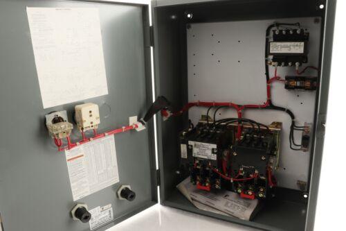 Square D 2 Speed Size 0 Motor Starter  8810SBG1V83C7FF4P1T 200-575v 3 Phase