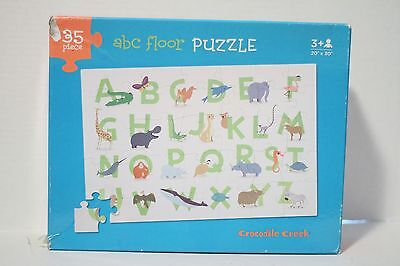 Crocodile Creek ABC Alphabet 35 Piece Floor Puzzle