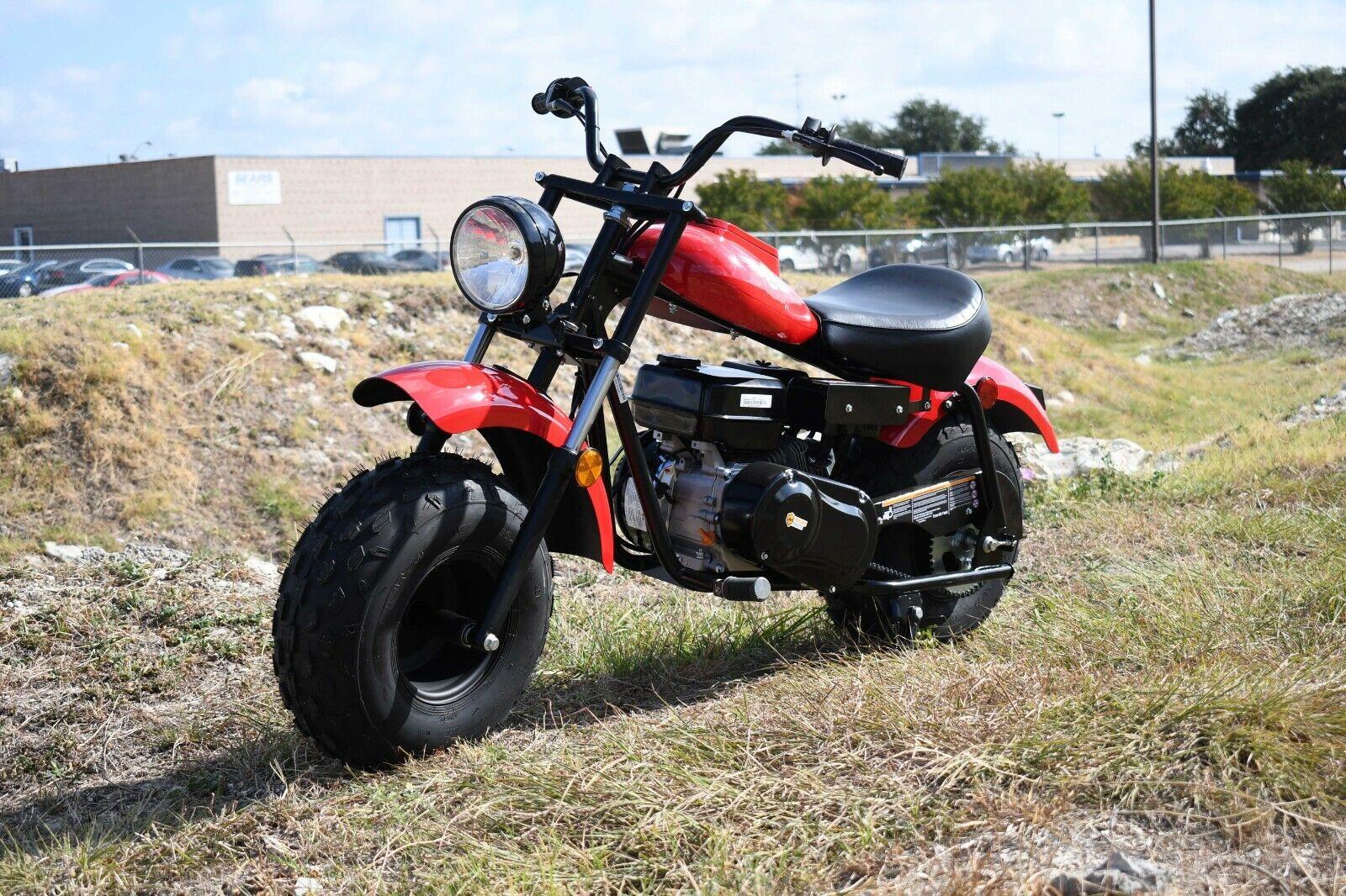 MASSIMO MB200 SUPERSIZED 196cc MINI BIKE MOTORCYCLE - RED