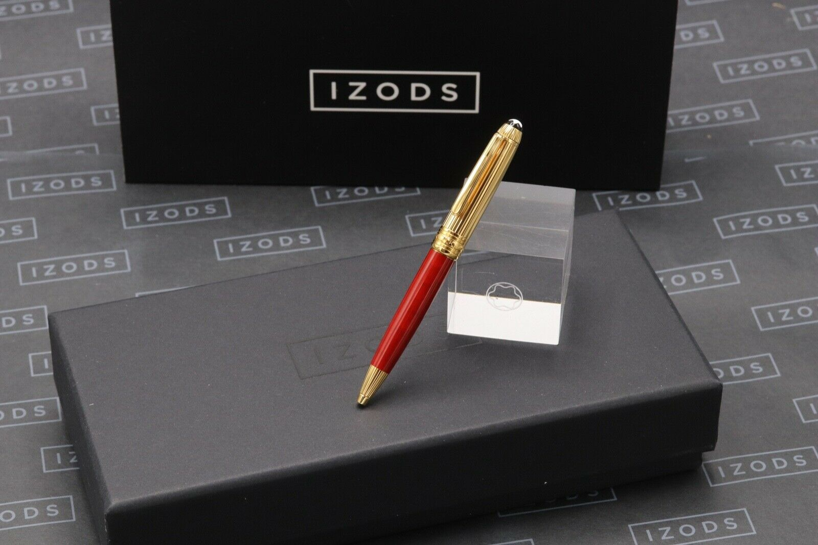 Montblanc Meisterstuck Mozart Coral-Red Gold-Plated Ballpoint Pen