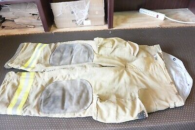 Morning Pride Firefighter Turnout Bunker Pants 36 X 30 Fire Gear Halloween