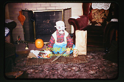1950's Child in Pirate Halloween Costume & Candy Loot, Original Photo Slide a22b](Halloween Candy Photos)
