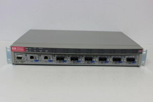 HP J3245A ADVANCESTACK SWITCH 800T WITH QTY 2 J3192C QTY 6 J3193B MODULES