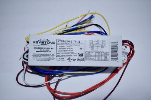 Keystone KTEB-240-1-TP /B  -  Rapid Start Electronic Universal Ballast