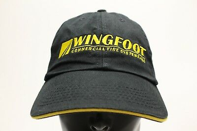 Commercial Tire (WINGFOOT - COMMERCIAL TIRE SYSTEMS - ADJUSTABLE STRAPBACK BALL CAP HAT!)