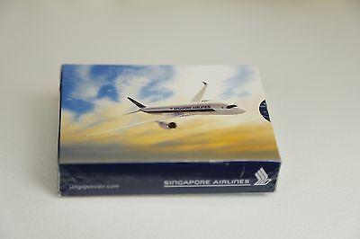 Singapore Airlines A350 Kartenspiel Deck of Cards Spielkarten Playcards NEW