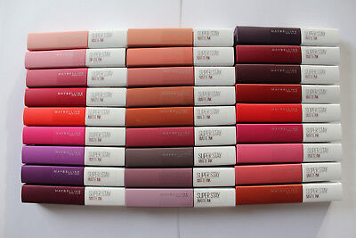 Maybelline New York Super Stay Matte Ink - Please Choose Shade: