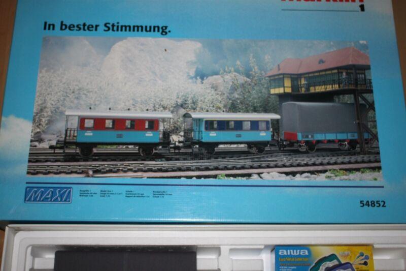 Märklin 54852 Wagon Set Train Music Express Gauge 1 Boxed