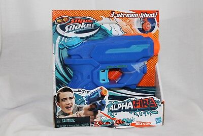 Nerf Super Soaker #A5625 Alpha Fire Water Blaster Brand New Fun Water Toy