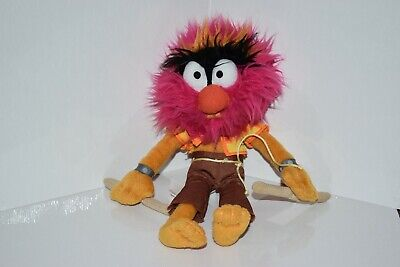 "Disney Animal Plush Soft Toy Doll The Muppets Show 13"" with drumsticks"