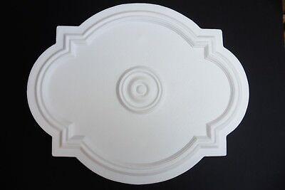 Ceiling Rose Lightweight Polystyrene - Renaissance Size 530mm x 435mm