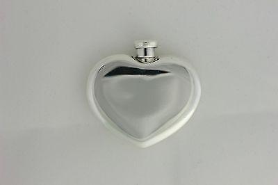 Tiffany & Co. Sterling Silver 925 Heart-Shaped Perfume Bottle