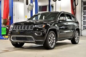 2018 Jeep Grand Cherokee LIMITED * TOIT PANO * NAV * GROUPE LUXE