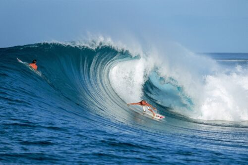 """Kelly Slater in the Mentawais 12x18"""" Photo Print"""