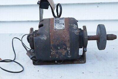 Vintage Electric Motor 13hp 115v 1725rpm