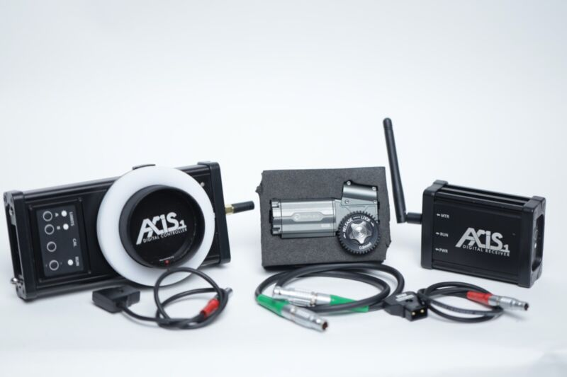 Hocus Products Axis1 Follow Focus Kit & Reflex Motor (Excellent Condition)