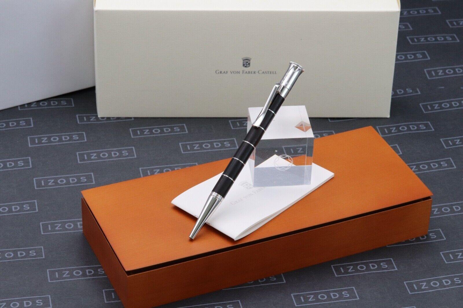 Graf von Faber Castell Classic Anello Ebony Ballpoint Pen