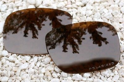 Amber Polarized Replacement Lenses (New Polarized Amber Brown Tinted Replacement Sunglass Lenses for Oakley)