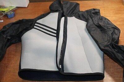 Foam Wetsuit (Foam Scuba Jacket Front Zipper Scuba Diving Diver Wetsuit Sz M )