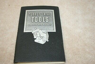 Warner And Swasey Turret Lathe Tools 1942 Original Catalog Manual Good