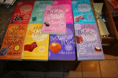 Lot of 9 Mates, Dates: Mates, Dates and Sleepover Secrets by Cathy Hopkins  - f