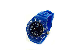 Fashion Unisex Gel Analog Wrist Sports Watch Jelly SIlicone Ladies Men Kids