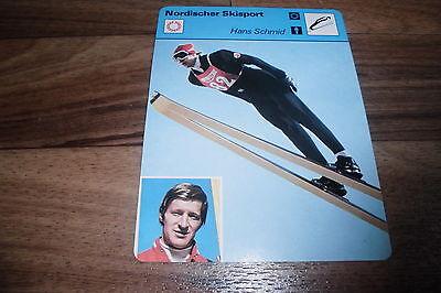 HANS SCHMID / Nordischer Skisport -- Editions Rencontre S.A. Lausanne 1977