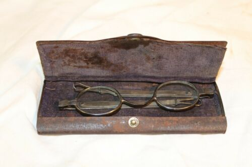 J.A. Coin Silver Spectacles