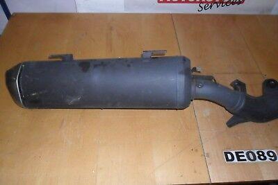 Exhaust/Muffler/Silencer System Assembly from Suzuki AN650 Burgman #DE089