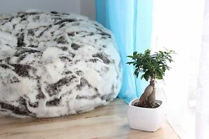 LARGE-LUSH-amp-SOFT-GOAT-FAUX-FUR-BEAN-BAG-CLOUD-CHAIR-COVER