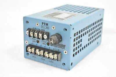 Raytheon Sorensen Ptm 15-.8d Power Supply Input 105-125v 50-440hz .85a